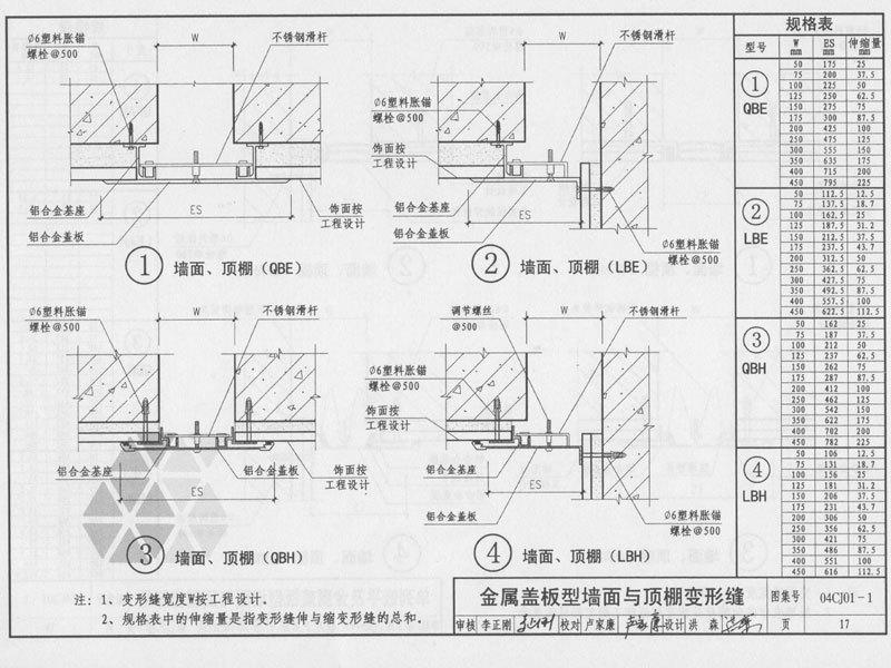 内墙变形缝图集图文说明2